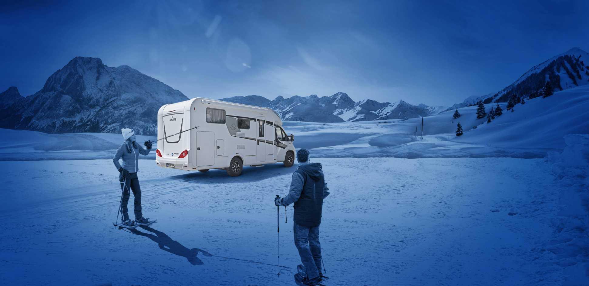 Acondicionar tu furgoneta camper para escapadas de Invierno