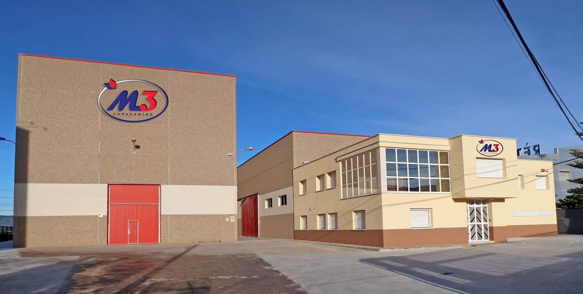 Apertura nuevo taller M3 Caravaning en Moja (Barcelona)