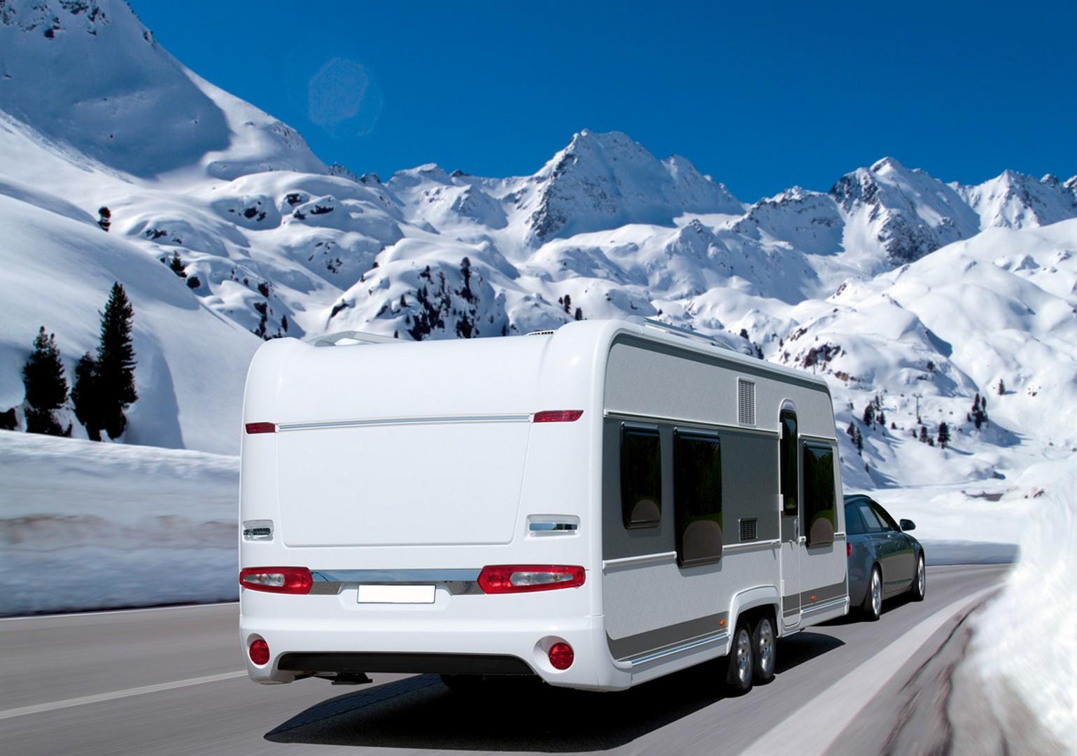 Consejos para disfrutar del invierno en caravana y autocaravana