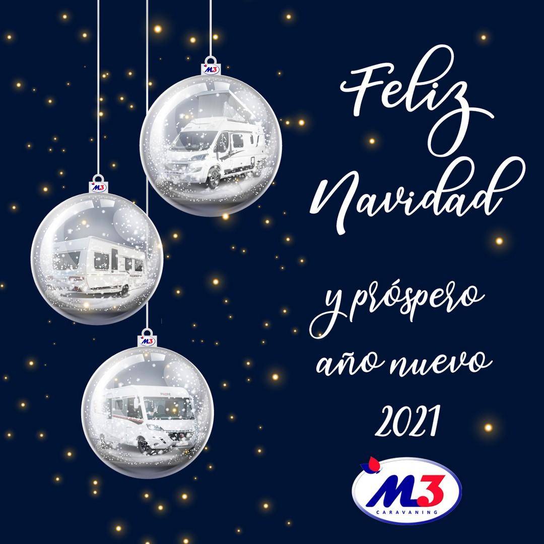 Feliz Navidad de parte de todo el equipo M3 Caravaning