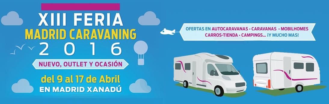 M3 Caravaning a la fira del Caravaning a Madrid Xanadú – del 9 al 17 d'abril del 2016
