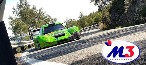 """M3 Caravaning espónsor en el campeonato de Cataluña de montaña, """"VII pujada a les ventoses"""""""