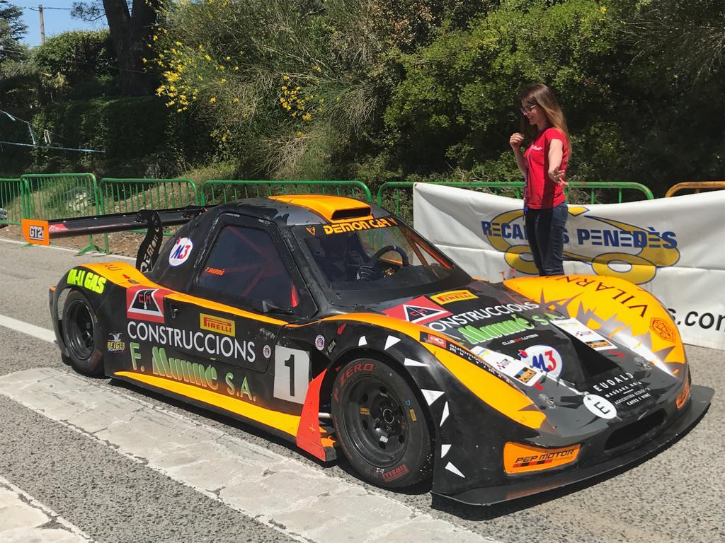 M3 Caravaning espónsor en el campeonato de Cataluña de montaña
