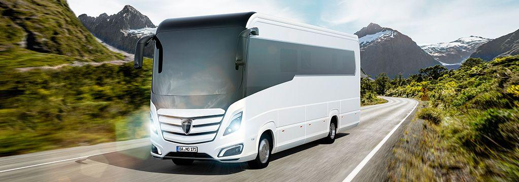 Presentació de les autocaravanes de Luxe Morelo, Made in Germany