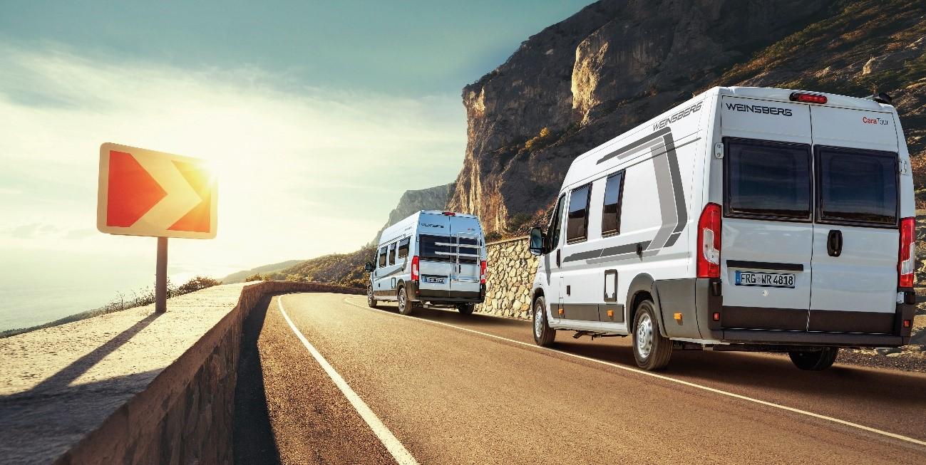 Rutas en caravana, autocaravana o furgoneta camper en otoño
