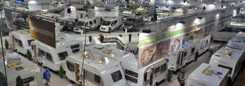 Veuen a veure novetats i ofertes en caravanes, autocaravanes i furgonetes campers, fira internacional del caravaning a Barcelona