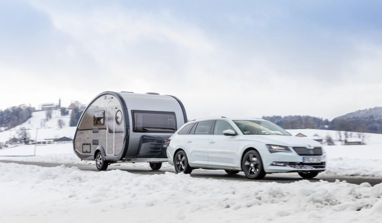 Avantatges de les caravanes noves de fins a 750 Kg