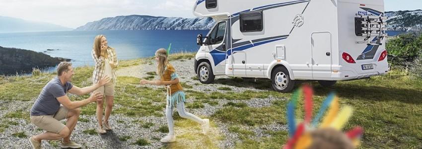 Viatja en caravana o en autocaravana amb nens de la millor forma