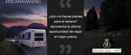 ÚLTIMAS CARAVANAS Y AUTOCARAVANAS DE STOCK ¡ENTREGA INMEDIATA!