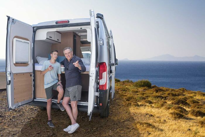 Comprar furgoneta camper nueva