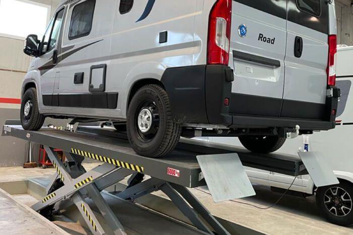 Mantenimiento furgonetas camperizadas