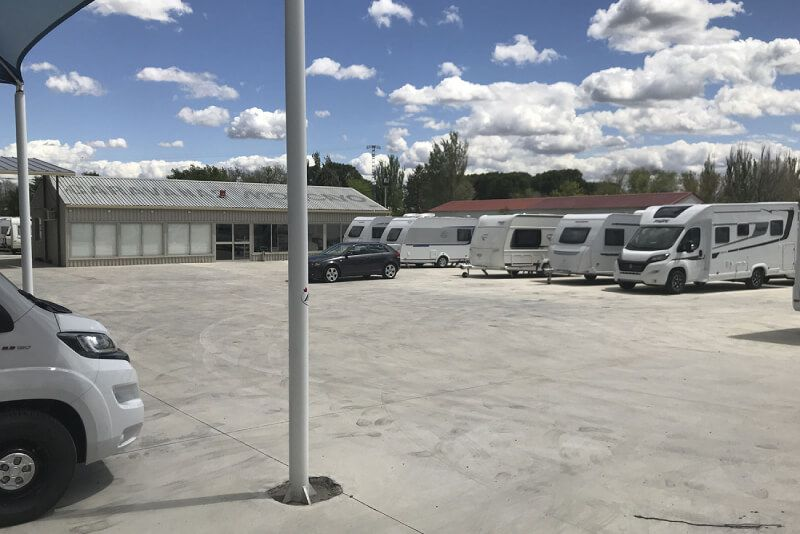 Taller caravanas