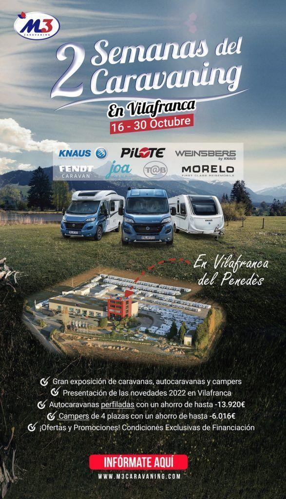 Feria del caravaning vilafranca m3